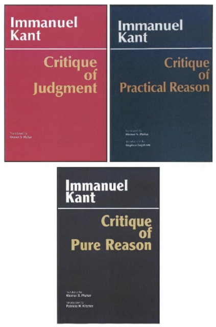 Three Critiques: WITH Critique of Pure Reason AND Critique of Practical Reason AND Critique of Judgment