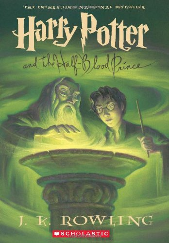 Harry Potter and the Half-Blood Prince by J K Rowling, ISBN: 9780439791328