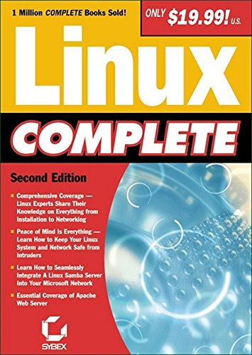 Linux Complete by Sybex, ISBN: 9780782140361