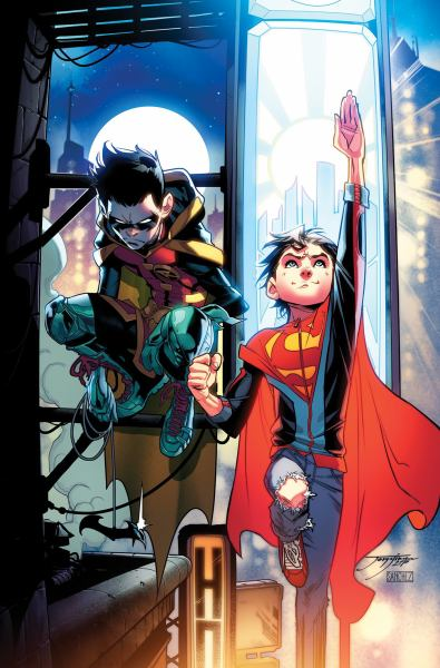 Super Sons: The Rebirth Deluxe Edition Book 1 by Peter J. Tomasi, ISBN: 9781401281137