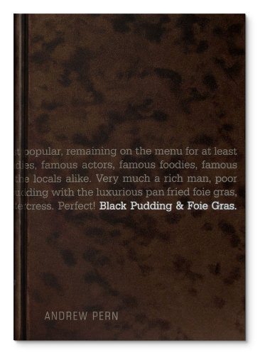Black Pudding and Foie Gras by Andrew Pern, ISBN: 9780955893001