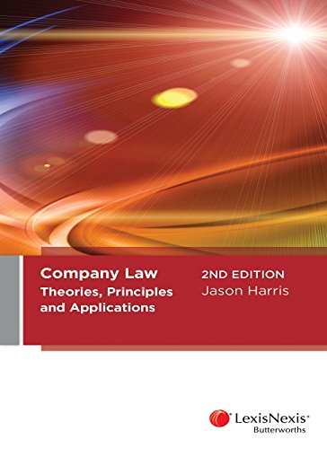 Company LawTheories, Principles and Applications