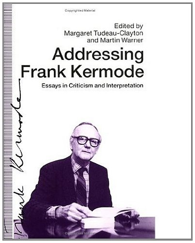 essays on fiction kermode While the age of shakespeare overlapped with the both the elizabethan and jacobean eras, kermode's compact, erudite appreciation of the bard is less about shakespeare's private life and tur.