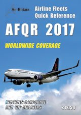Airline Fleets Quick Reference: AFQR 2017 by Terry Smith, ISBN: 9780851304946