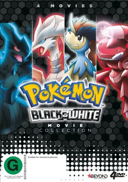 Pokemon - Black & White Generation | Movie Collection by Eric Stuart,Rachael Lillis,Veronica Taylor,Not Specified, ISBN: 9318500057846