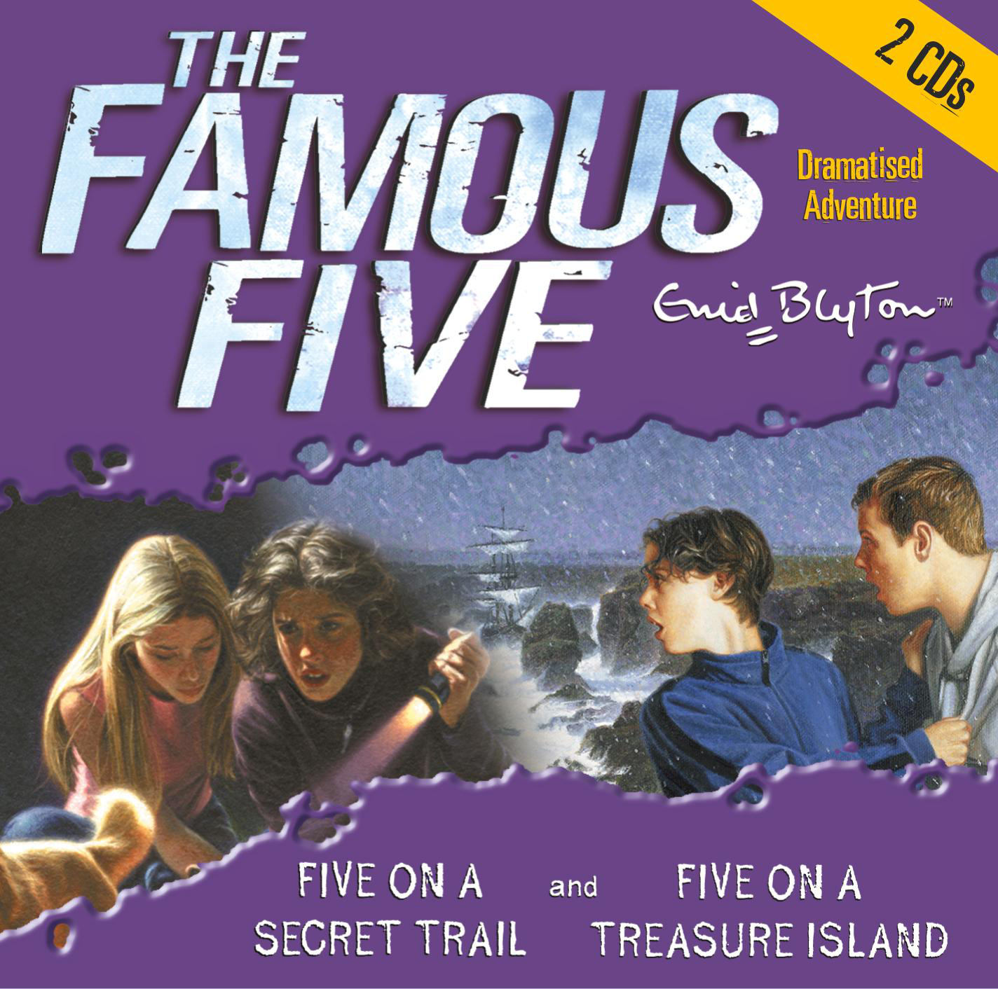 Famous Five: Five On Treasure Island & Five On a Secret Trail