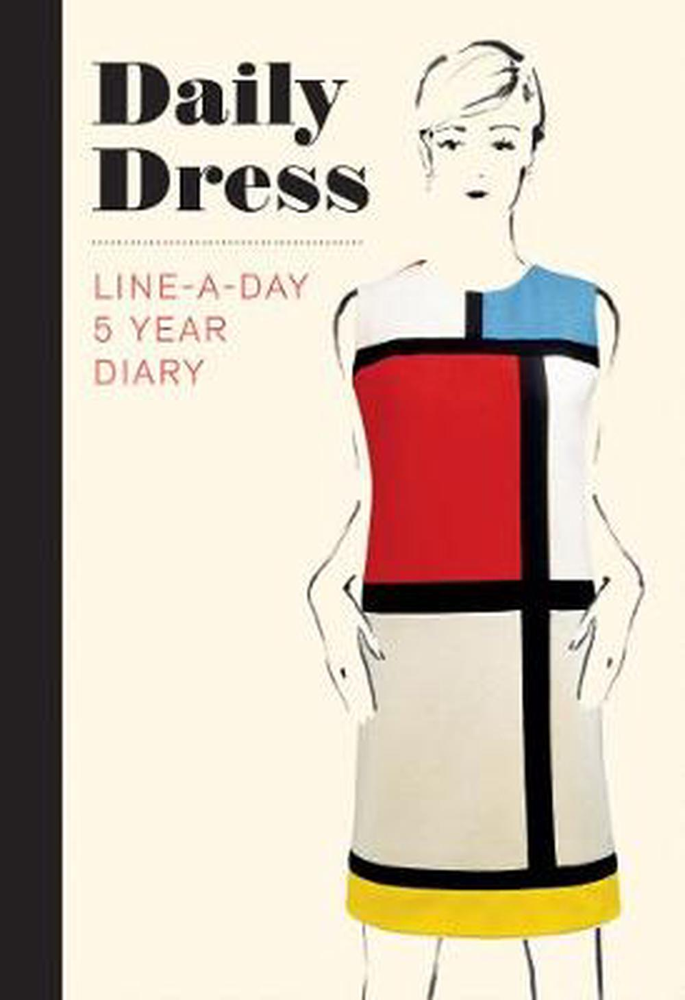 Daily Dress (Guided Journal): A Line-A-Day 5 Year Diary (Diaries) by The Metropolitan Museum of Art, ISBN: 9781419726781