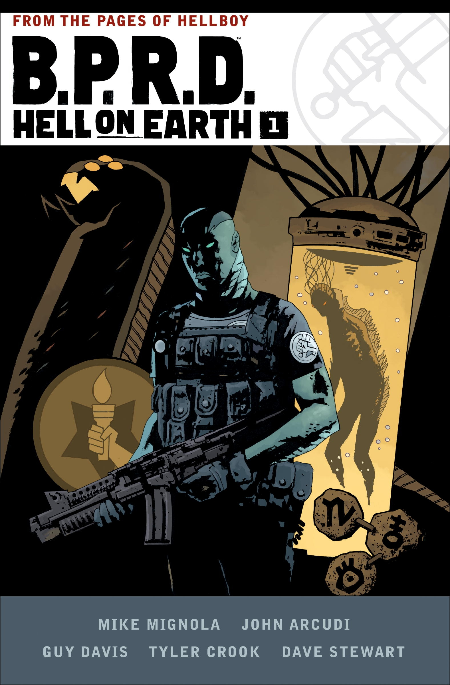 B.P.R.D. Hell on Earth Volume 1 by Mike Mignola, ISBN: 9781506703602