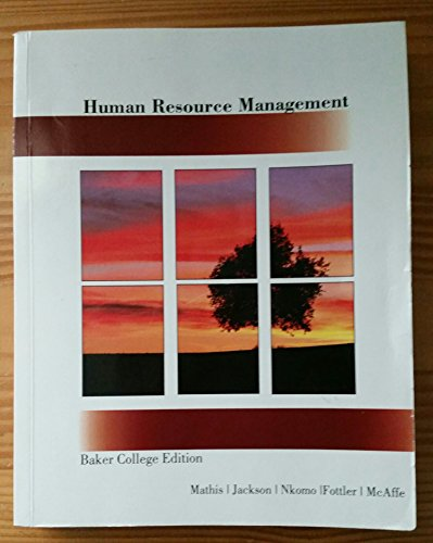 nkomo fottler Book reference nkomo, sm, fottler, md, & mcafee, r b (2011) human resource management applications: cases, exercises, incidents, and skill builders (7th ed) mason, oh: south- western cengage learning 56 17 exercise is this unlawful discrimination i objectives a to help you understand.