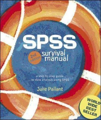 SPSS Survival Manual: Version 12 by Julie Pallant, ISBN: 9780335216406