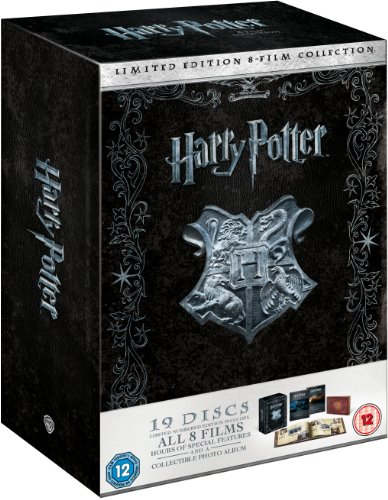 Harry Potter: The Complete 1-8 Film Collection (Limited Numbered Edition)