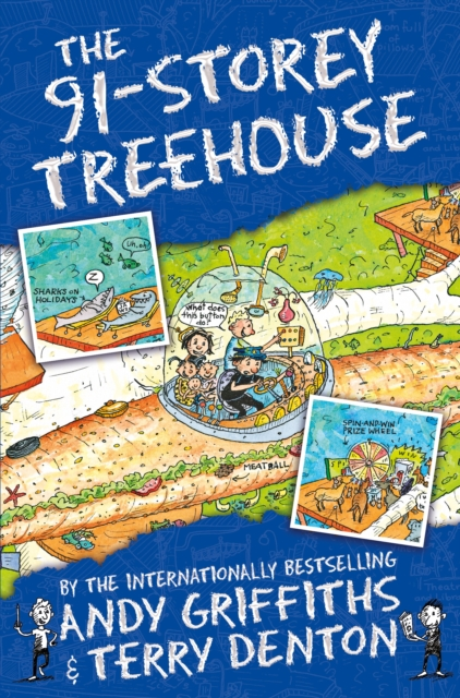 The 91-Storey Treehouse by Andy Griffiths, Terry Denton, ISBN: 9781509839162