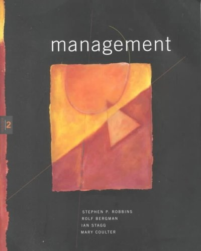 Cover Art for Management: Australia and New Zealand, ISBN: 9780724810734