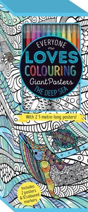 Everyone Loves Colouring Giant PostersThe Deep Sea