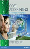 Cost Accounting a Managerial Emphasis + My Accouting Lab Book & e-Book + Pearson Interactive Computer Assignment