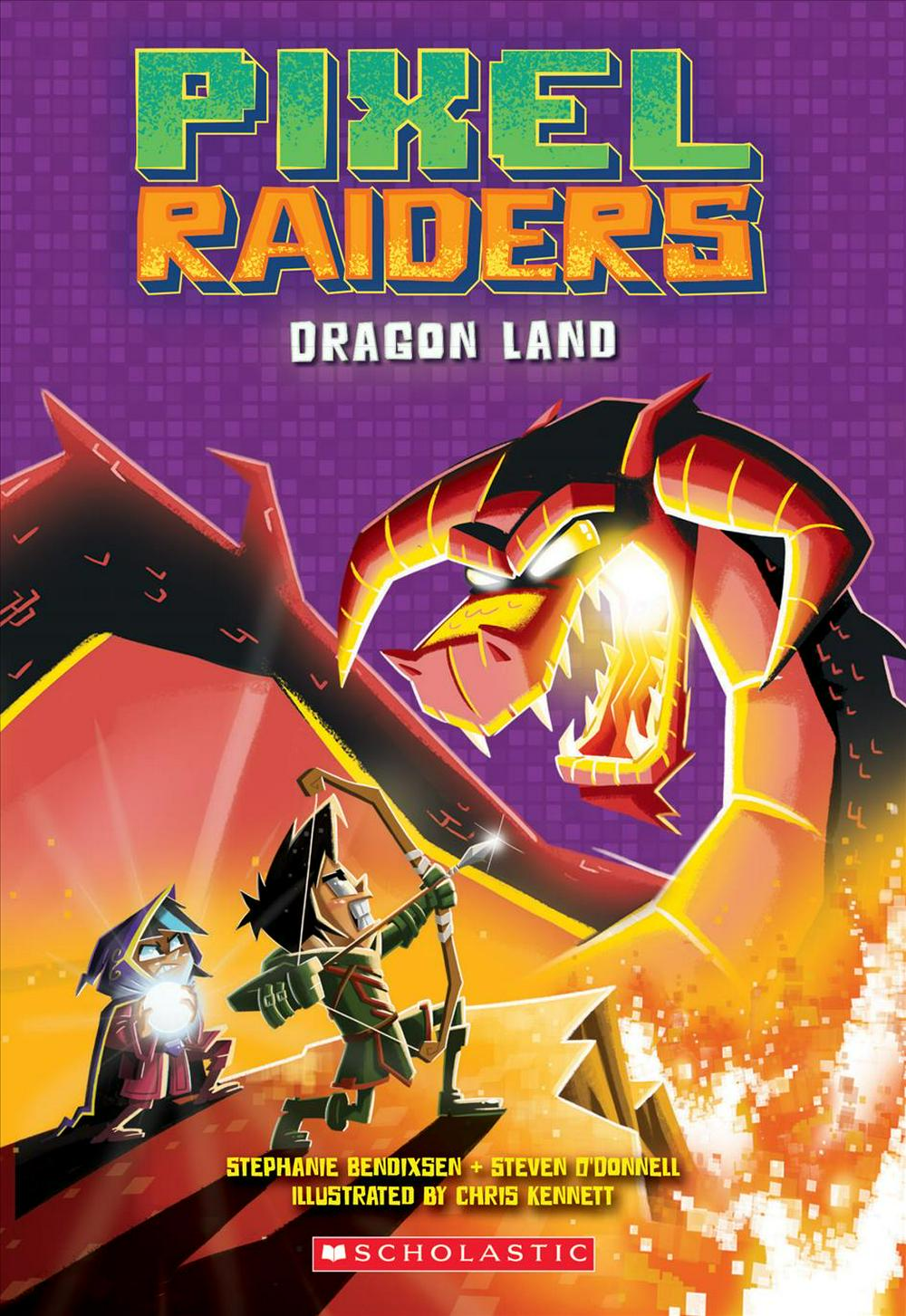Dragon Land (Pixel Raiders #2)