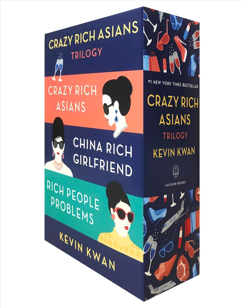 Crazy Rich Asians Trilogy Boxed Set