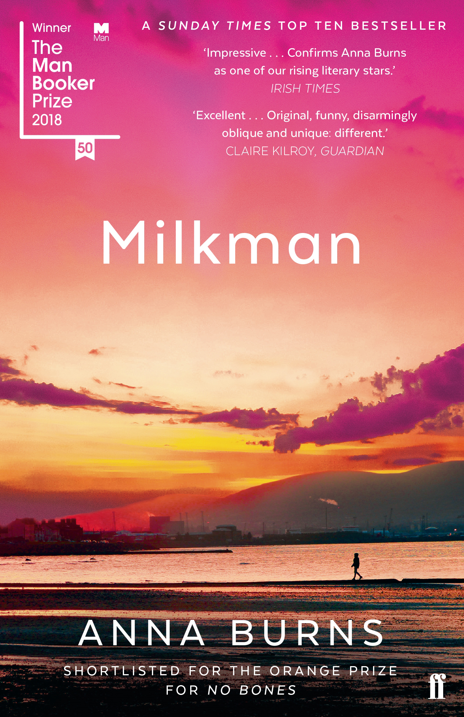 Milkman by Anna Burns, ISBN: 9780571338757