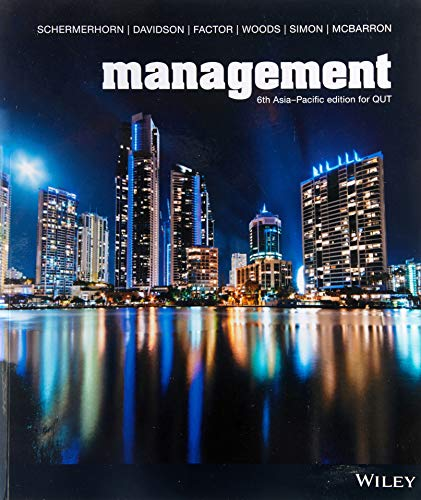 Management 6th Asia-Pacific Edition Custom F/Qut   (Black & White)