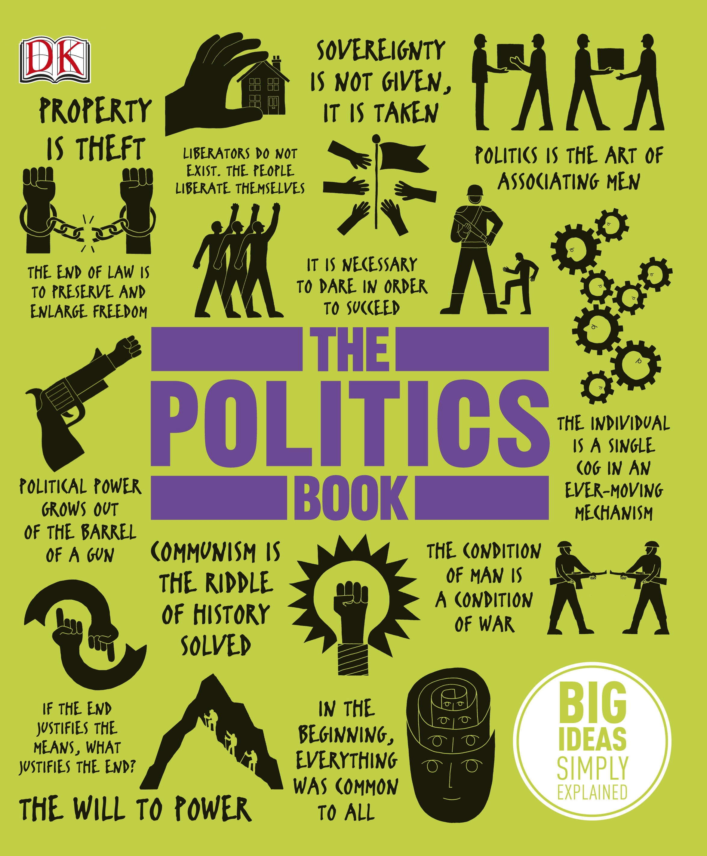 The Politics Book by DK, ISBN: 9781409364450