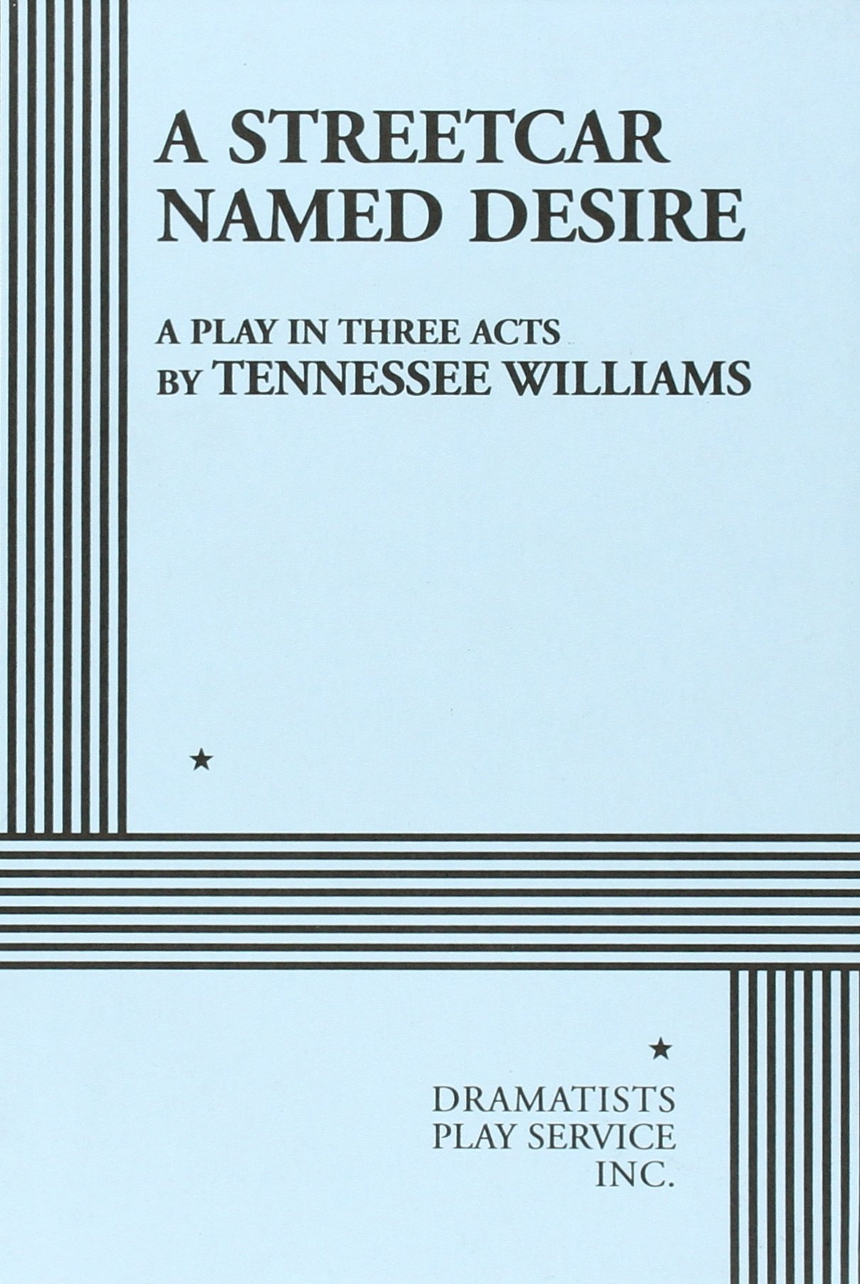an analysis of a streetcar names desire by williams tennessee About a streetcar named desire bookmark this page manage my reading list the symbol employed most frequently by williams in his emphasis of the essential differences in the worlds is light it represents the reality stanley lives by and the harshness blanche must soften.