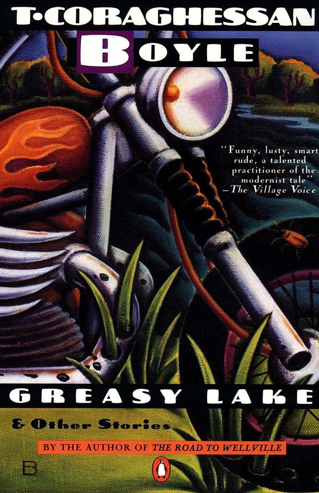 analysis of greasy lake by t. coraghessan boyle essay This article is written like a personal reflection or opinion essay that states greasy lake and other stories was an interview with t coraghessan boyle.