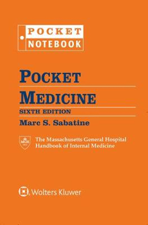 Pocket Medicine by Marc S. Sabatine, ISBN: 9781496349484