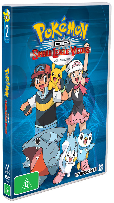 Pokemon DP Sinnoh League Victors collection 2