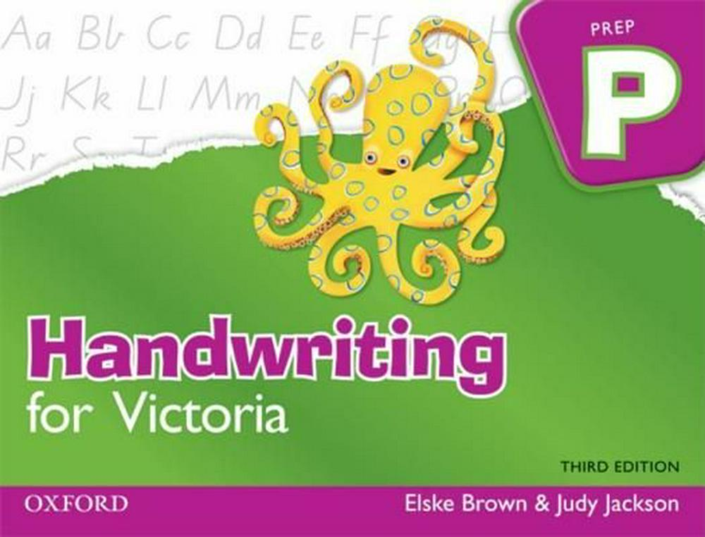 Handwriting for Victoria - Prep