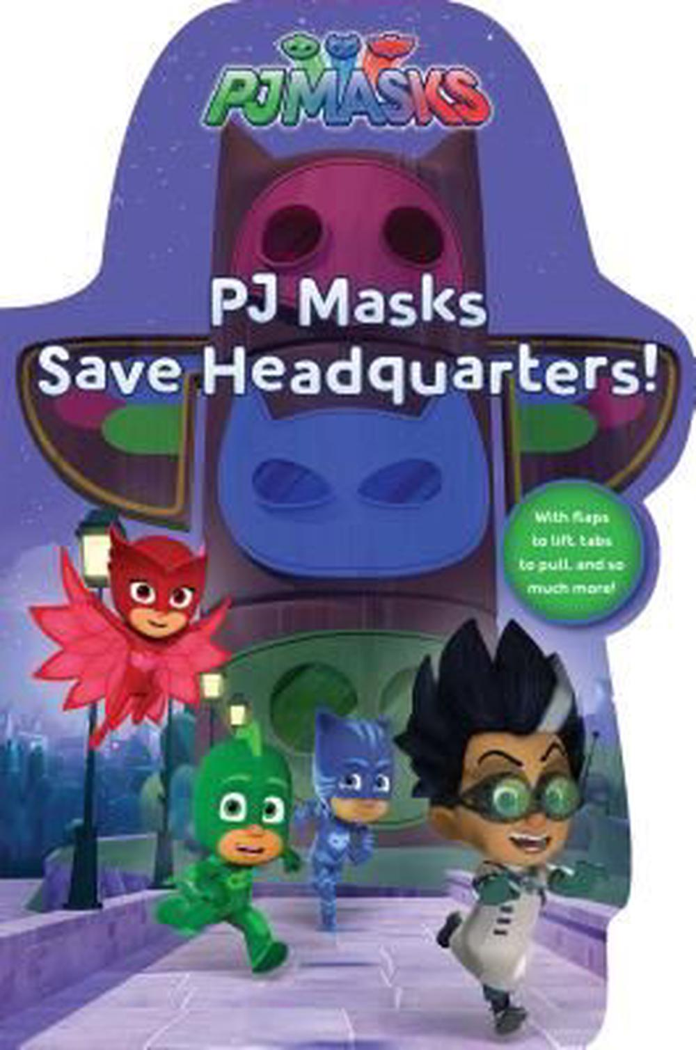 Pj Masks Save Headquarters! by Daphne Pendergrass,Style Guide, ISBN: 9781481495523