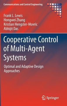 Cover Art for Cooperative Control of Multi-agent Systems, ISBN: 9781447155737