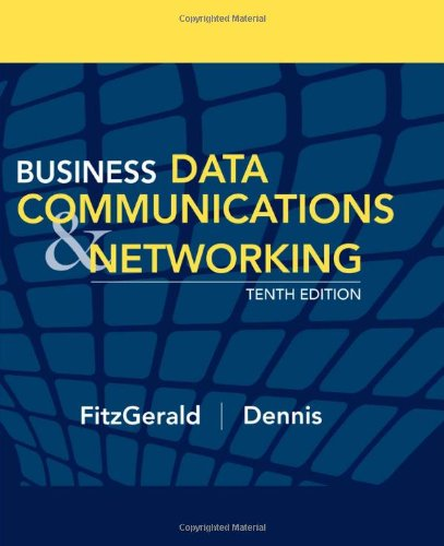 chapter 5 mini case networking dennis fitzgerald Mini case studies at the end of each chapter provide the opportunity to apply these technical and management concepts hands on exercises help to reinforce the concepts introduced in the chapter second, this book is intended for the professional who works in data communications and networking.
