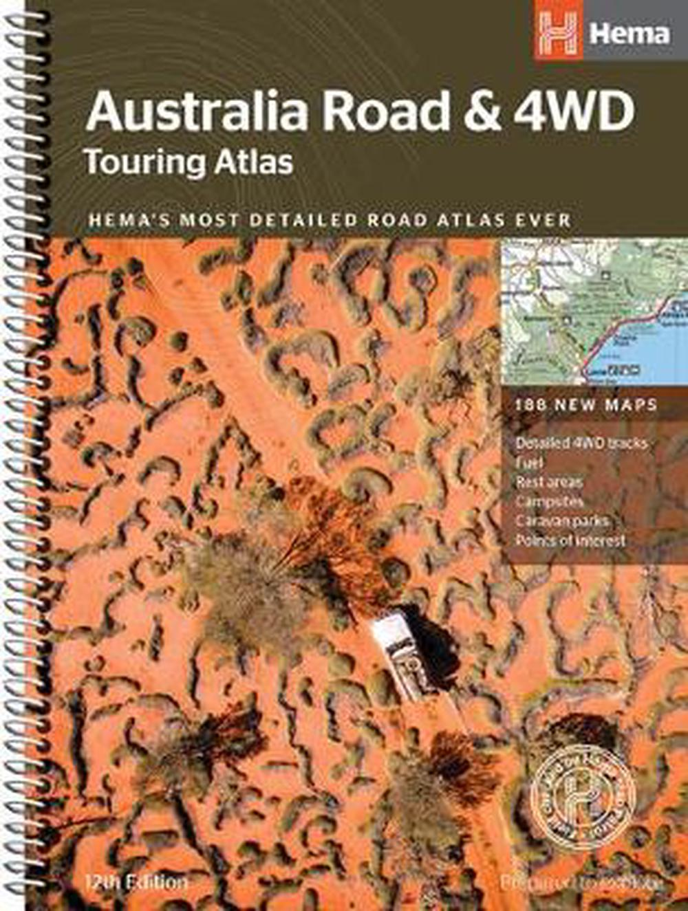Australia Road & 4WD Atlas Touring Atlas