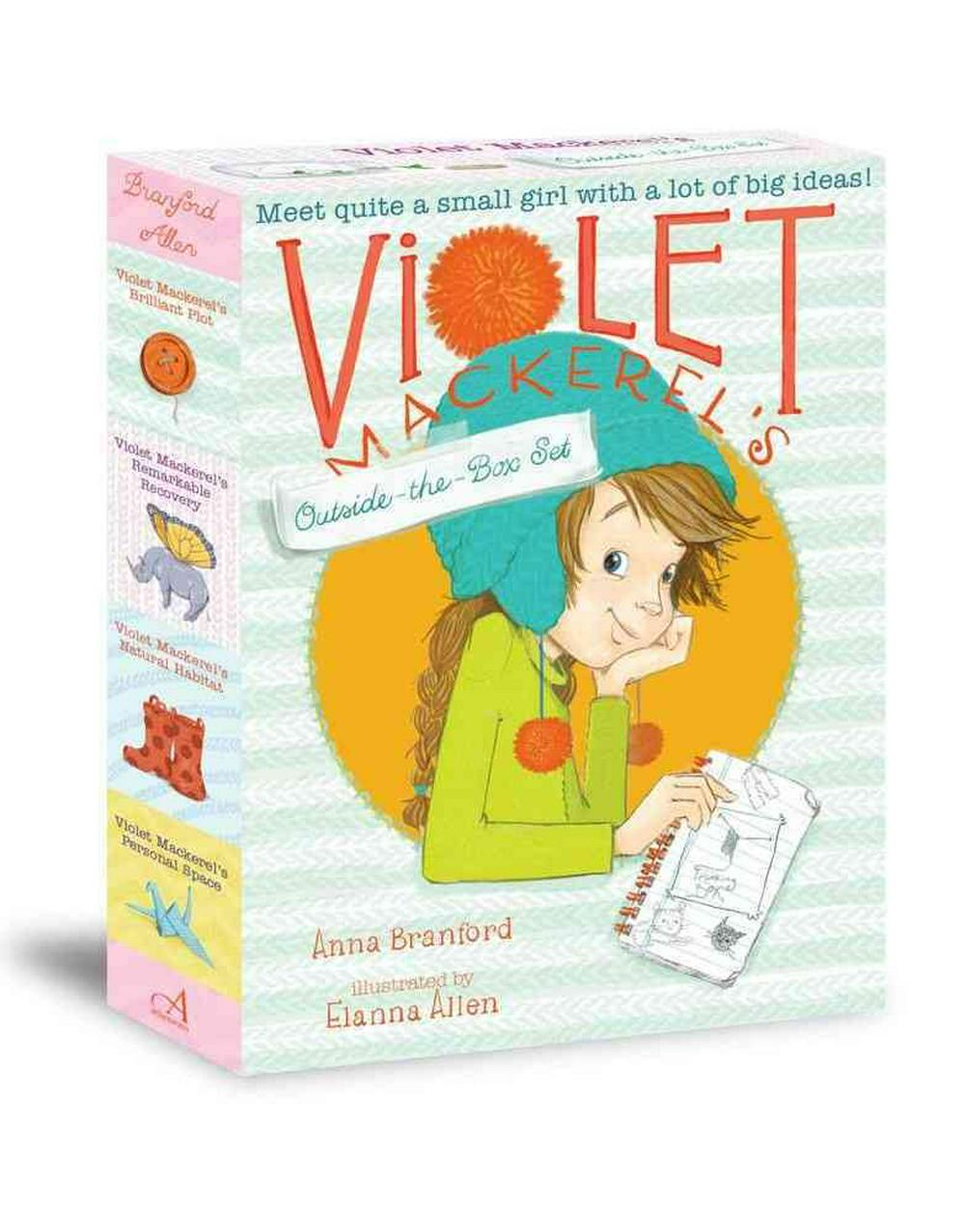 Violet Mackerel's Outside-The-Box Set by Anna Branford, ISBN: 9781442488595