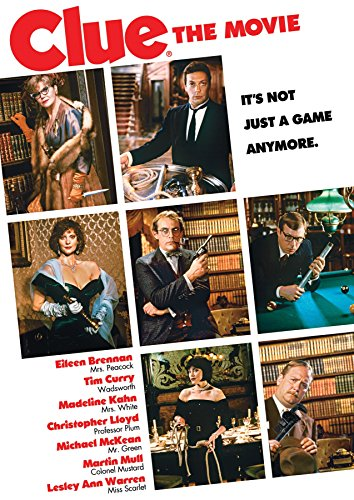 Clue The Movie by Unbranded, ISBN: 0032429256584