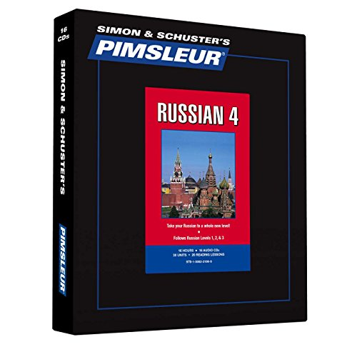 Pimsleur Russian Level 4 CD: Learn to Speak and Understand Russian with Pimsleur Language Programs (Comprehensive)