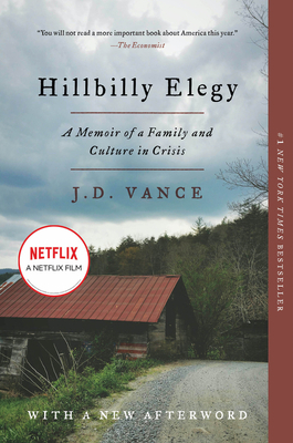 Hillbilly Elegy by J. D. Vance, ISBN: 9780062300553