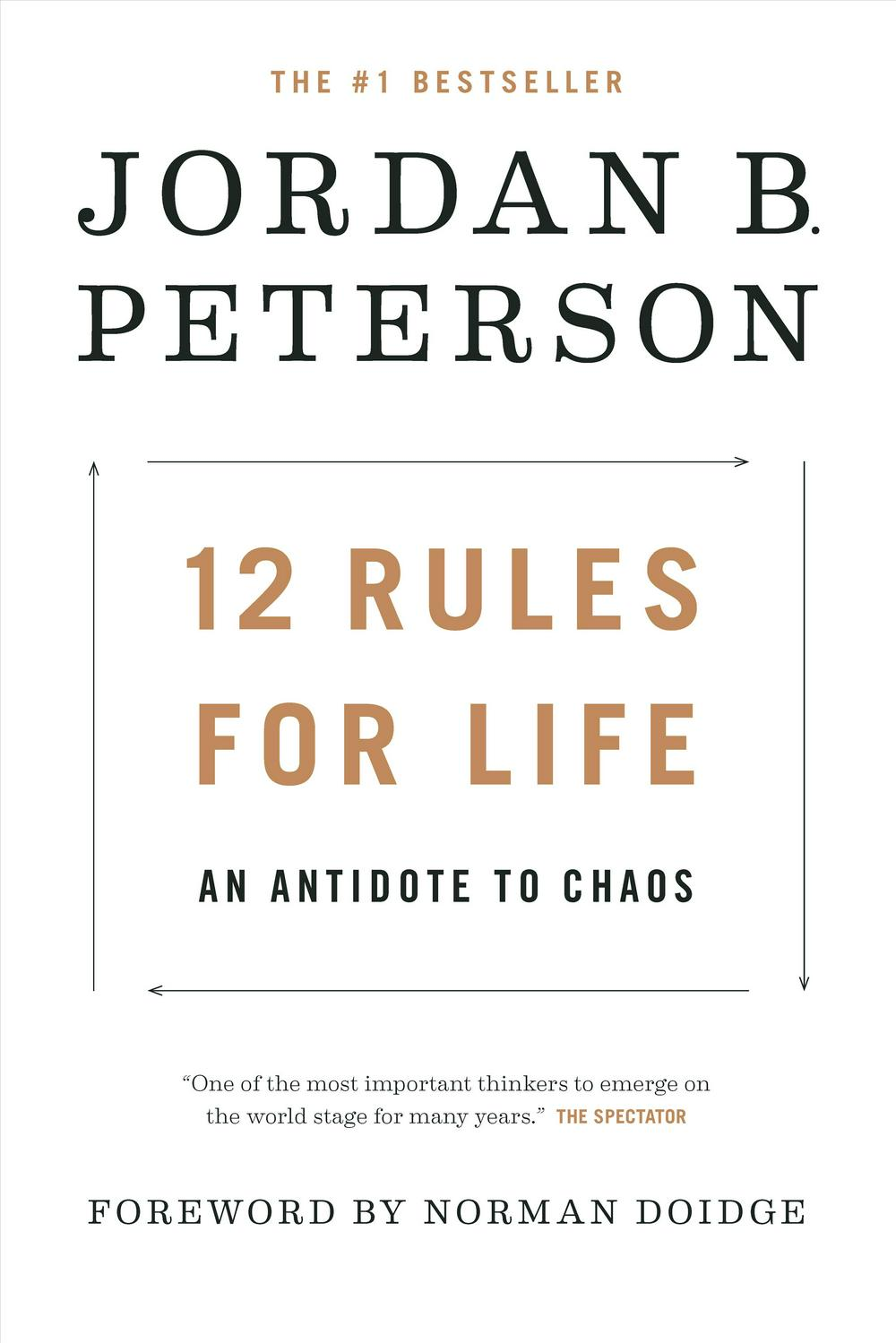 12 Rules for Life: An Antidote to Chaos by Jordan Peterson, ISBN: 9780345816023