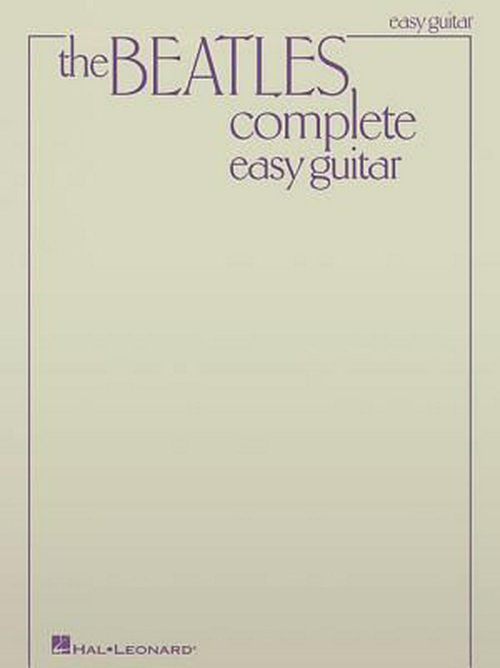 Beatles Complete Easy Guitar