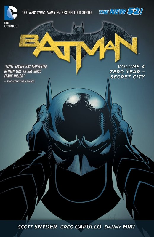 Batman 4: Zero Year-Secret City: The New 52