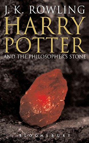 Harry Potter and the Philosopher's Stone Adult jacket edition