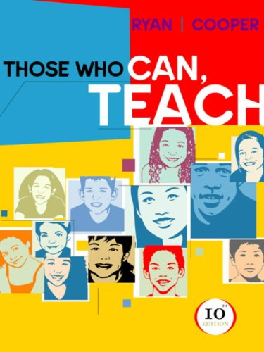 Guide to Technology Tools for Ryan/Cooper's Those Who Can, Teach, 10th by Cheryl Mason Bolick; James M. Cooper, ISBN: 9780618313242