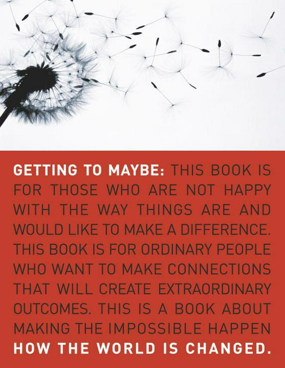 Getting to Maybe by Frances Westley, ISBN: 9780679314448