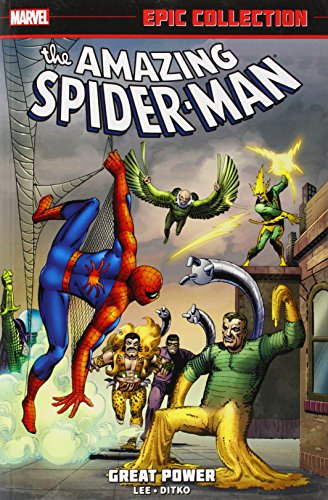 Amazing Spider-Man Epic Collection: Great Power by Stan Lee, ISBN: 9780785188346