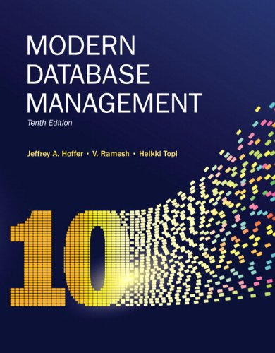 Modern Database Management: Global Edition