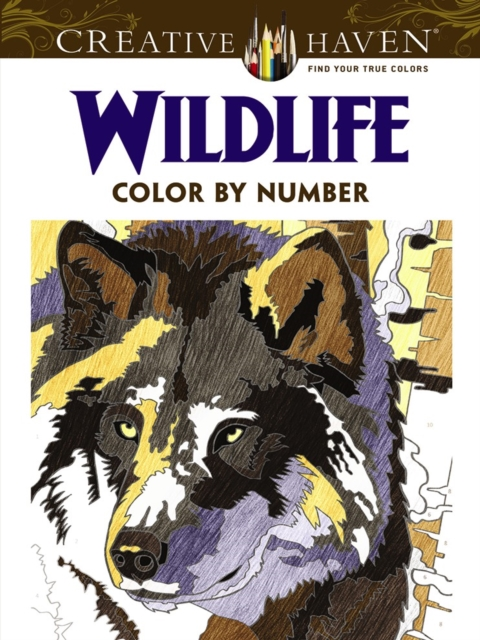 Creative Haven Wildlife Color by Number Coloring BookCreative Haven Coloring Books