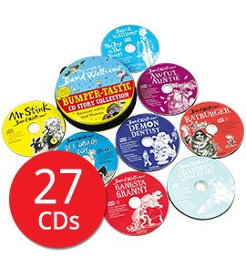 The World of David Walliams: Bumper-tastic CD Story Collection - 27 CDs (Collection)