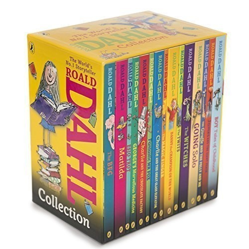 Booko comparing prices for roald dahl 15 book box set slipcase roald dahl 15 book box set slipcase includes matilda witches the twits fandeluxe Choice Image