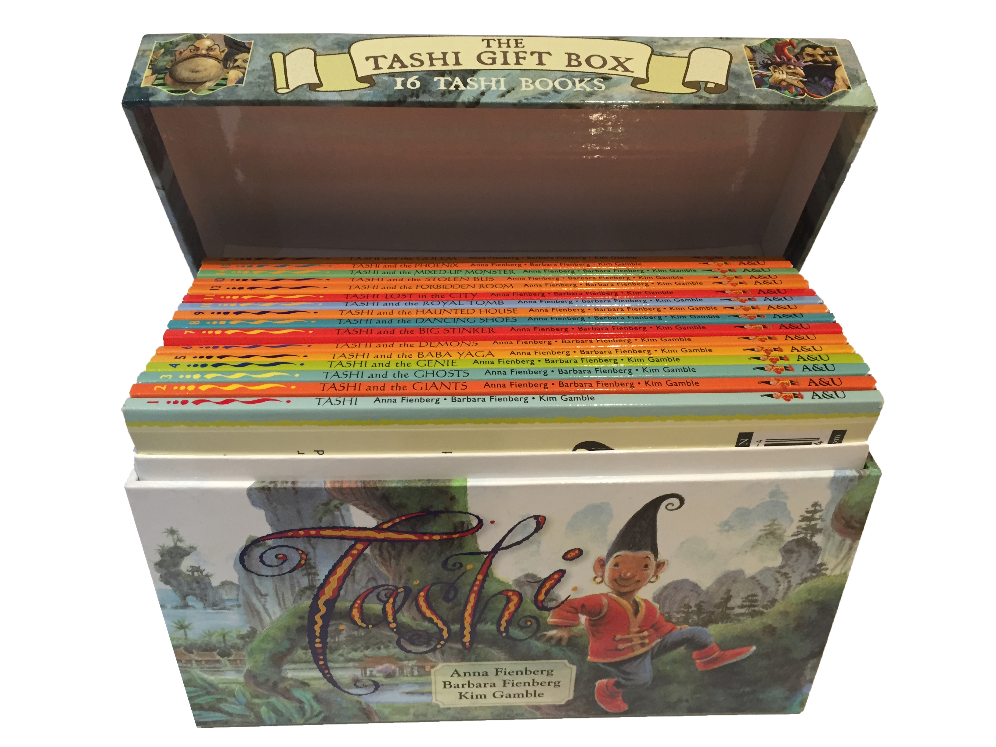Tashi 16 book gift box (flip top)