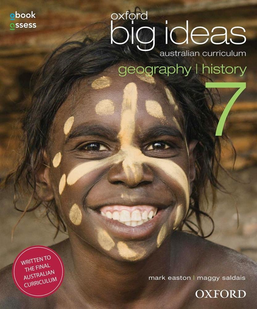 Oxford Big Ideas Geography/History 7 AC Student Book + obook/assess by Mark Easton, ISBN: 9780195590197
